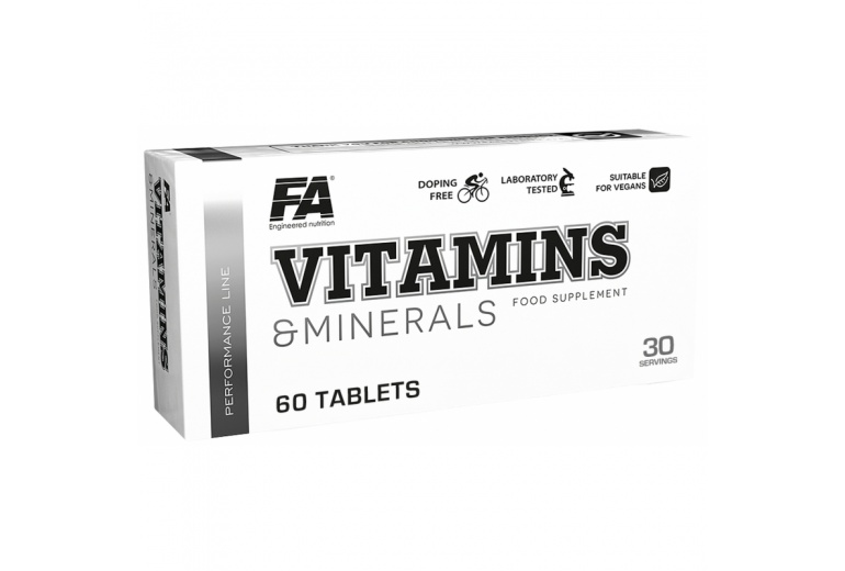 FA VITAMINS and MINERALS 60 tbl