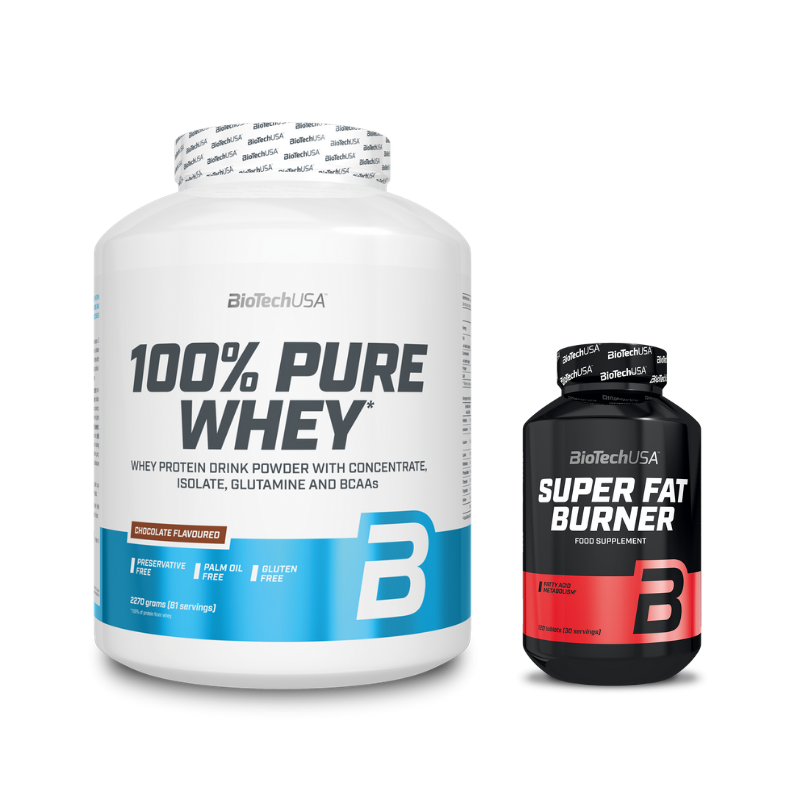 100% Pure Whey + Super Fat Burner